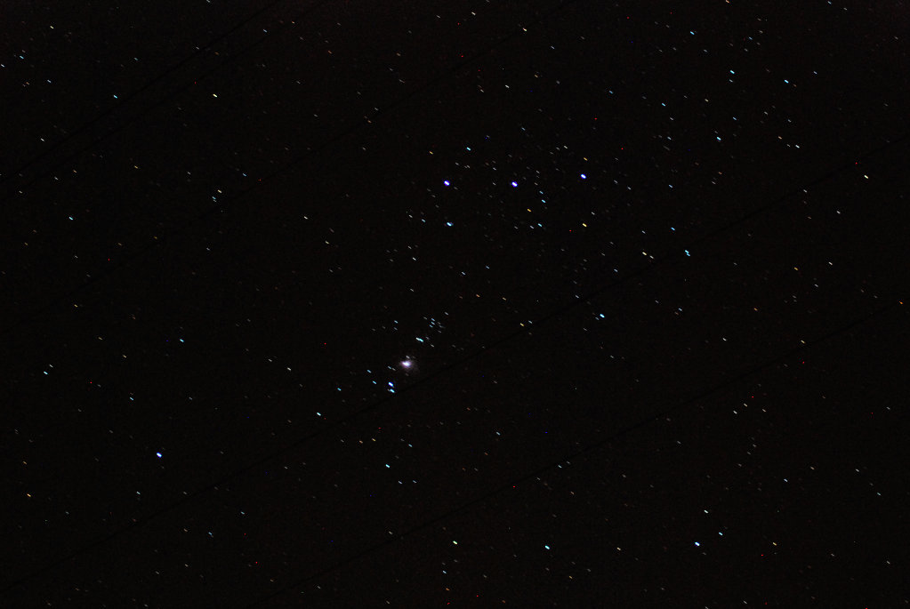 Orion's Belt & Nebula