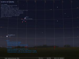 November 18th Comet ISON