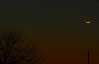 PanSTARRS and Crescent Moon #2
