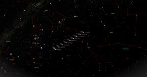 CometQ2-Lovejoy-Jan5toJan13-Path